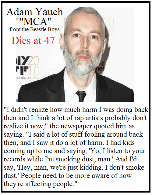 Rest in Peace - Adam Yauch