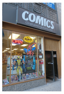 Graham Crackers Comic Book Store - 77 E. Madison - Chicago, IL - 312.629.1810
