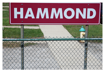 The Hammond South-Shore Station in Hammond, IN
