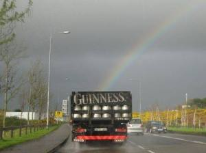 Guiness Beer and Rainbows